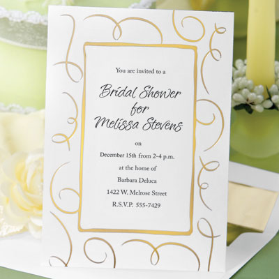 christmas bridal shower ideas diy invitation ideas loops flat invitations by paperdirect