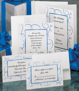 Loops Flat Invitations by PaperDirect