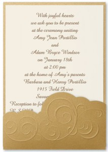 Wedding Invitations Etiquette Wording Paperdirect Blog