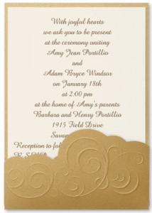 Wedding Invitations Etiquette Wording PaperDirect Blog