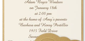 Whisper Pocket Invitations
