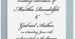 Silver Harmony Layered Invitations