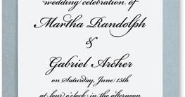 Silver Harmony Layered Invitations