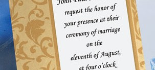Promises Layered Invitations