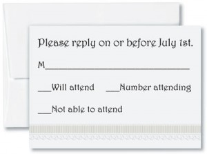 Wedding Response Card Wording for DIY Weddings PaperDirect Blog