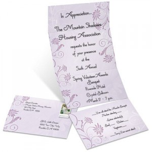 Dainty Daisy Fold Up Invitations