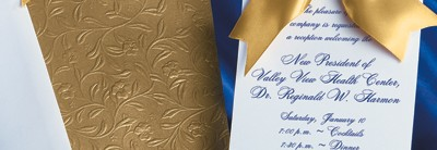 Heirloom Vine Specialty Pocket Invitation by PaperDirect