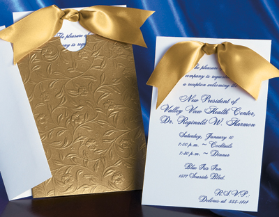 heirloom vine specialty pocket invitation by paperdirect - Wedding Invitation Packages