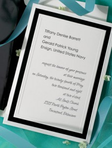 Military Wedding Invitation Wording NAVY Commander And Higher