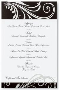 Wedding Menu Wording Suggestions & Tips | PaperDirect Blog ...