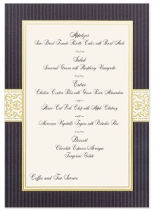 keep it simple for the most effective menu card design paperdirect