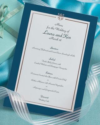 simple menu design ideas