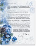 Sapphire Christmas Border Papers by PaperDirect