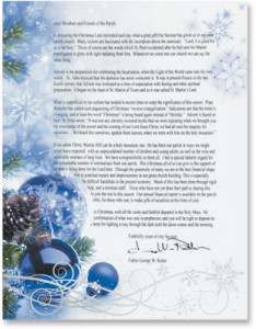 business christmas letter template