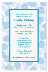 6 Irresistible Baby Shower Invite Ideas Paperdirect Printable Programs Program Template