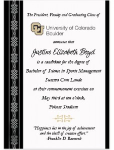 What to include on graduation announcements paperdirect blog quotes for graduation announcements yadclub Images