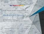 Slate Gray Modern Certificates by PaperDirect