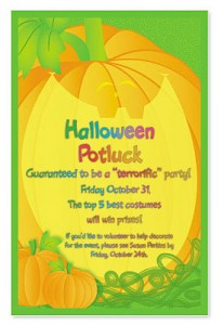 Halloween potluck invitation wording best custom invitation images of fun halloween party invitation wording halloween ideas stopboris Choice Image