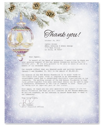 sample customer thank you letter for business