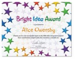 Stacked Stars Certificates by PaperDirect