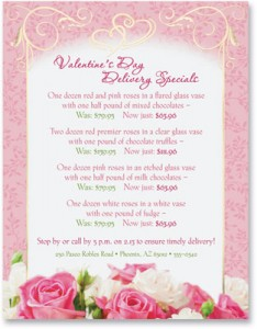 Sweet Surrender Valentines Border Papers by PaperDirect