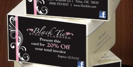 Sweet Swirl Business Cards