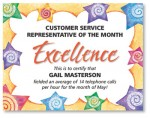 Swirly Stars Casual Certificates by PaperDirect