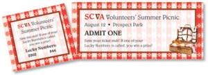 bbq fundraiser ticket template .