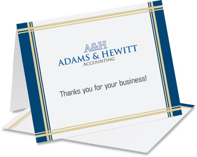 Business Note Card Samples Paperdirect Blog