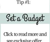 Set a budget