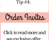 Tip #4 Christmas Party Planning