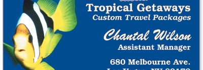 Tropical Fish Business Cards