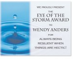 Waterdrop Photo Certificate by PaperDirect