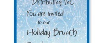 Winter Snow Casual Invitations by PaperDirect