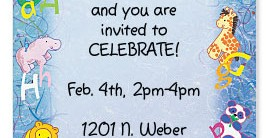 Zoo Review Casual Invitations