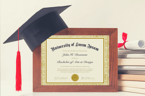 6 unique ways to frame your college graduation diploma