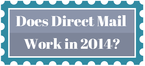 direct mail 2014