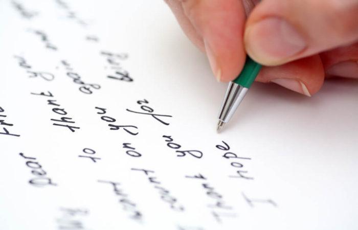 Handwritten Letter Services