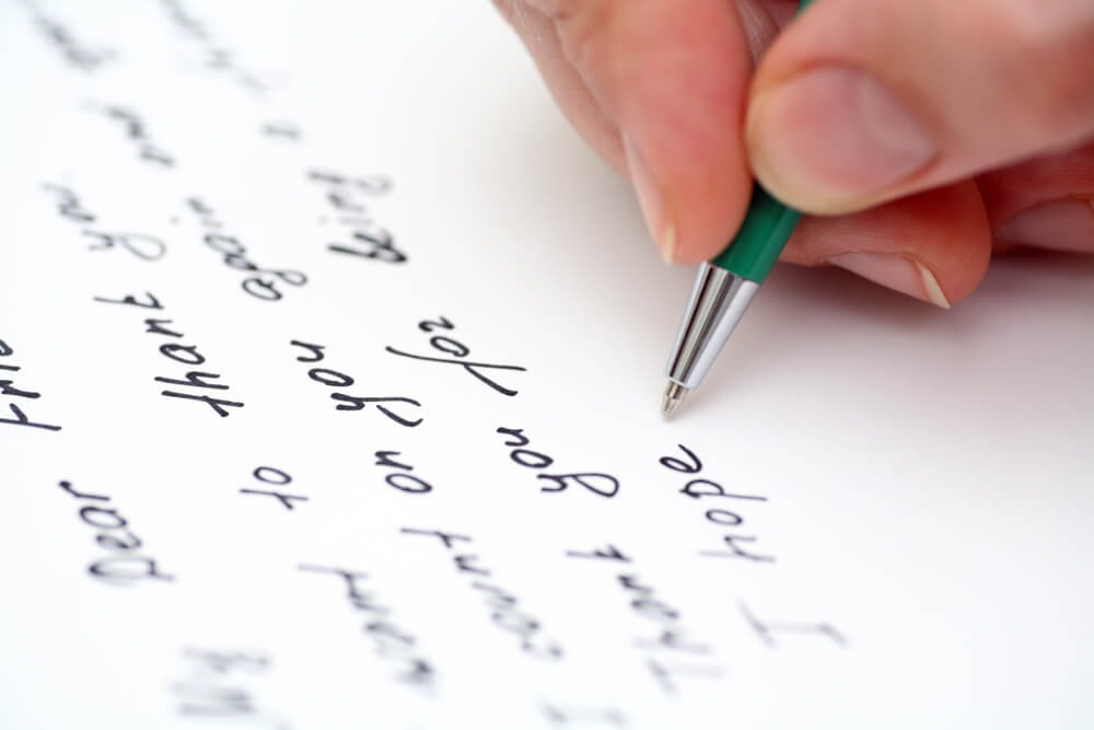 Handwritten Letter Services