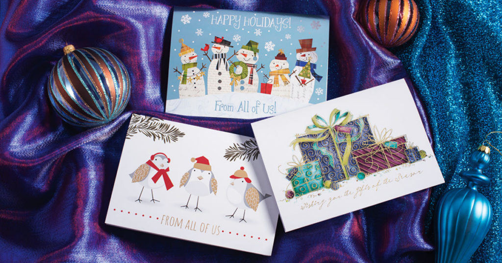 Enter to win free holiday greeting cards from paperdirect holiday greeting cards modern m4hsunfo