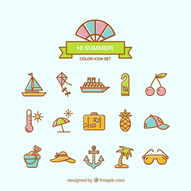 Lovely Summer Icons