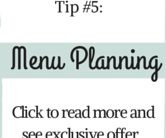 Christmas Party Planning Tip #5 - Planning the Menu