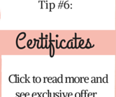 recognition tip 6