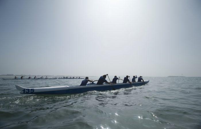 Rowing Team work