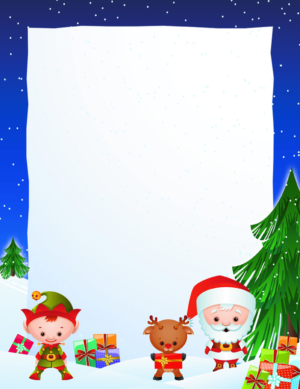 Free Santa Letter Templates From Paperdirect  Paperdirect Blog