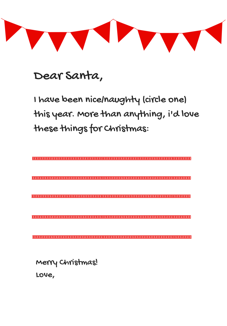 6 free santa letter templates from paperdirect paperdirect blog