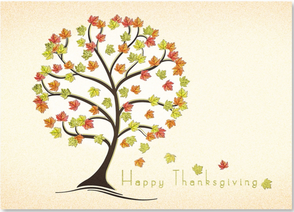 would you ever send a client a thanksgiving card paperdirect blog