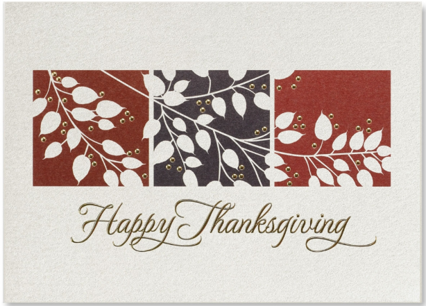Thanksgiving Screen card
