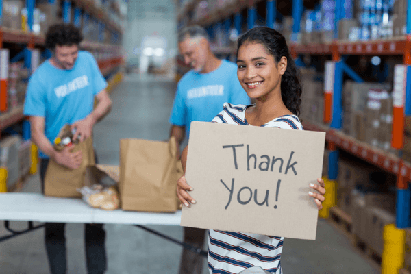 volunteer appreciation ideas