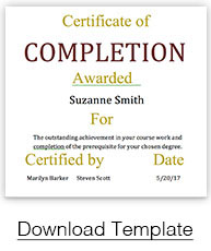 Find The Perfect Certificate Template For Your Award In PaperDirectu0027s Free  Template Library Below.  Downloadable Certificate Template